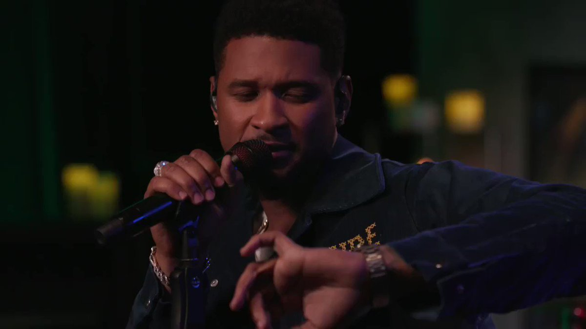 Usher performing 'Nice & Slow' on the 22nd anniversary of it becoming his first #1 single on the Billboard Hot 100.