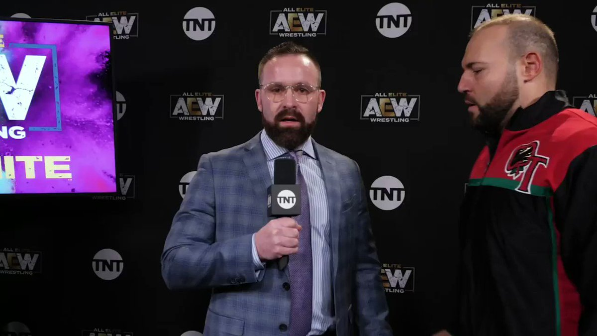 Replying to @AEWrestling: What's the special weapon?! Watch #AEWDark NOW via our YouTube channel at .
