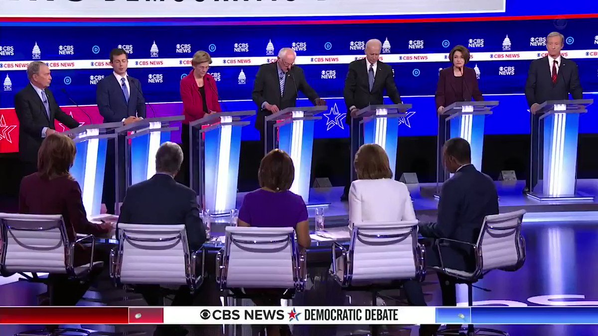 We must restore the credibility of the United States. #DemDebate