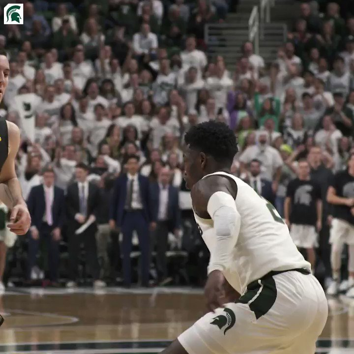 𝗧𝗛𝗘 block 😤 #SpartanDawg
