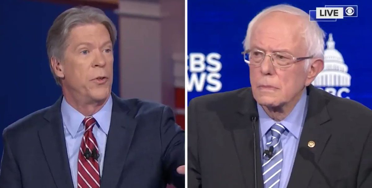 Our #SkipAIPAC campaign was discussed at the CBS debate in South Carolina! Great answer from @BernieSanders. But @MajorCBS, its factually incorrect and antisemitic to insinuate that most Jewish Democrats support @AIPACs right-wing agenda.