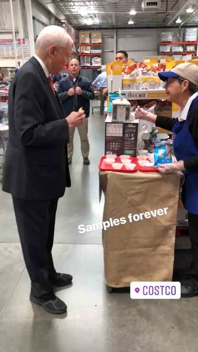 The biggest misconception about me is that I don't like Costco samples. I love Costco samples.