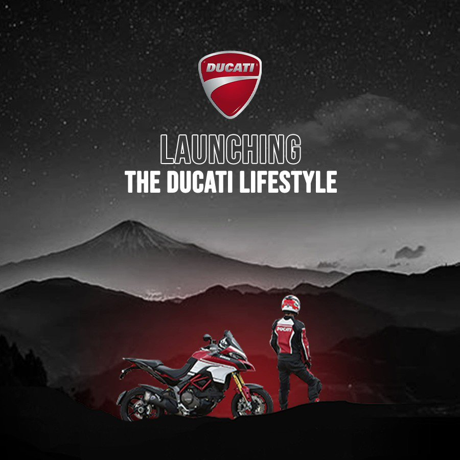 Ready, Get set, Go! Stay in the fast lane with the biggest brand launch of the year. Presenting Ducati Life - A range of apparels fashioned for fast living. Shop now - http://bit.ly/3a31t0X #MyntraxDucati #DucatiLife P.S - An exciting #contest drops soon. *Stay tuned*