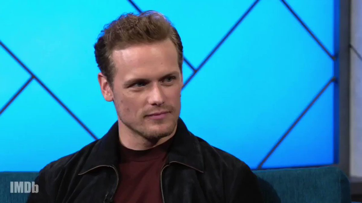 IMDB interview - Sam gives more insight into Jimmy Dalton - love that his character will be written into future comics with the potential of a movie franchise  #SamHeughan #Bloodshot