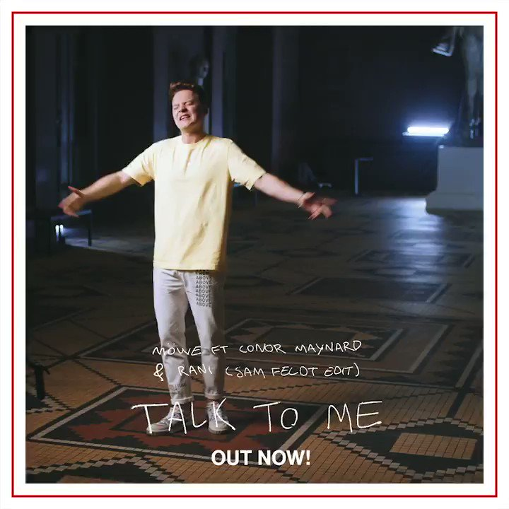"Découvrez le nouvel edit de @SamFeldtMusic du single ""Talk to me"" avec @ConorMaynard, @MOWEmusic et Ranihttps://lnk.to/TalkToMe_"