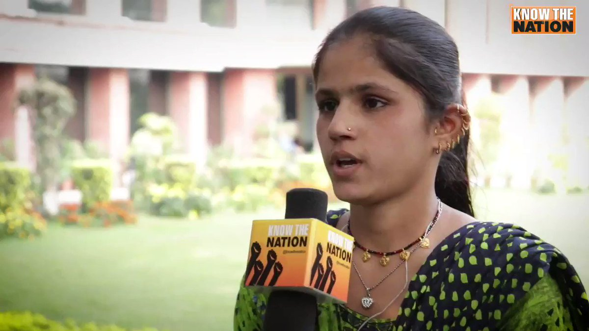 """We were forcibly made to read Quran at school. We were forced to eat beef, drop Hinduism & convert to Islam. All our lives we were treated like untouchables,"" Ramgauri, a Hindu refugee girl from Pakistan narrates her misery.#DelhiRiots2020 #delhivoilence #refugees"
