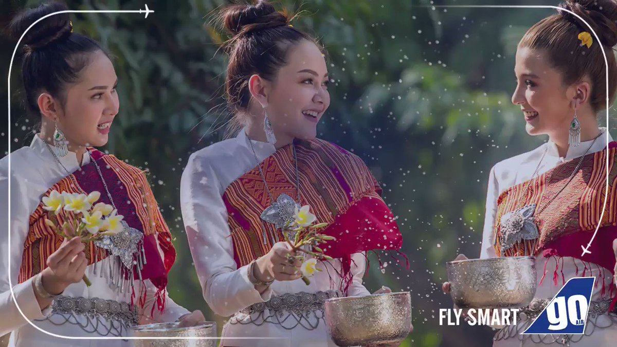 Songkran- Thai New Year is on its way! 🤩Celebrate the biggest water festival and experience an array of processions and traditional food with our non-stop flights to #Bangkok and #Phuket.✈Book now - http://bit.ly/2vfPwWQ