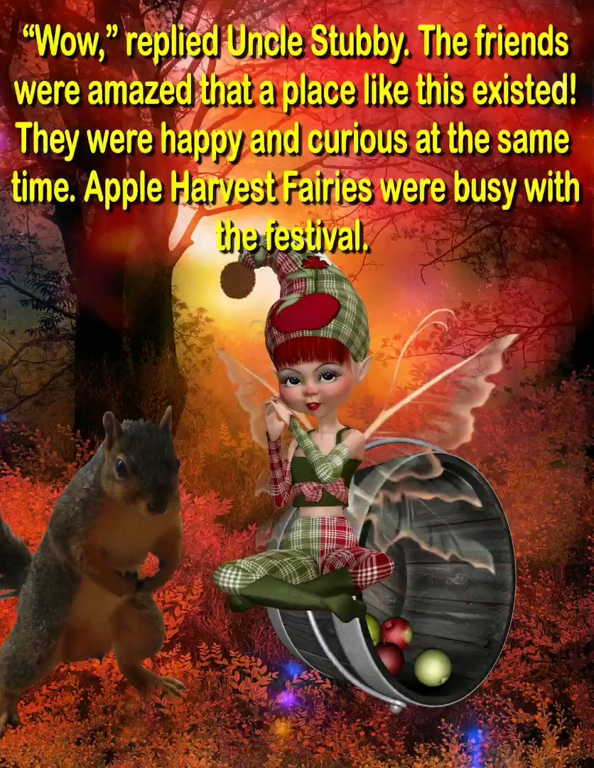 "Replying to @MaryLSchmidt: #New! ""Amazing sights such as a #Mushroom Family, a beautiful Festival of Lights with speaking #butterflies and #flowers, time spent at an Apple Harvest Festival, and #Mushroom Houses."" #ASMSG #KIDLIT #SCBWI  #Bo…"