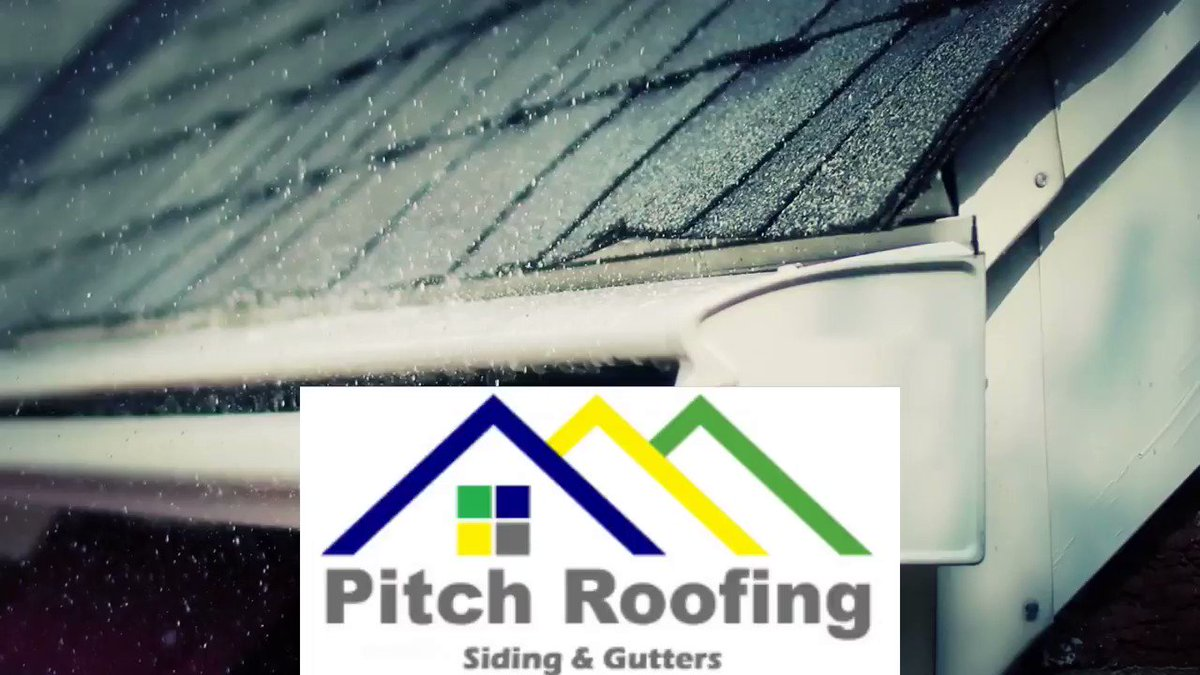 Weather can do so much harm to the #roof and #gutters. With temperature changes, #rain, #snow, and #ice can #destroy your #home and #foundation. Pitch Roofing can rebuild your #roof, #siding, and #guttering.