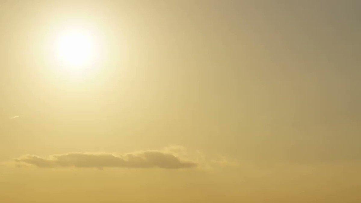最後まで撮れなかった... でも綺麗だった!  #夕日 #名古屋 #sun #sunset #timelapse #写真撮ってる人と繋がりたい #sky