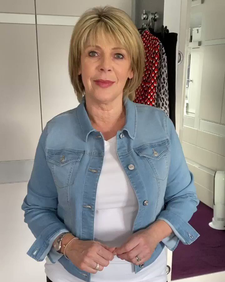 Lots of you requested a lighter version of my denim jacket for spring/summer and here it is! The Mid Wash Denim Jacket is available now @qvcuk on 3 easy pays. Click here to buy: qvcuk.com/.product.17342…