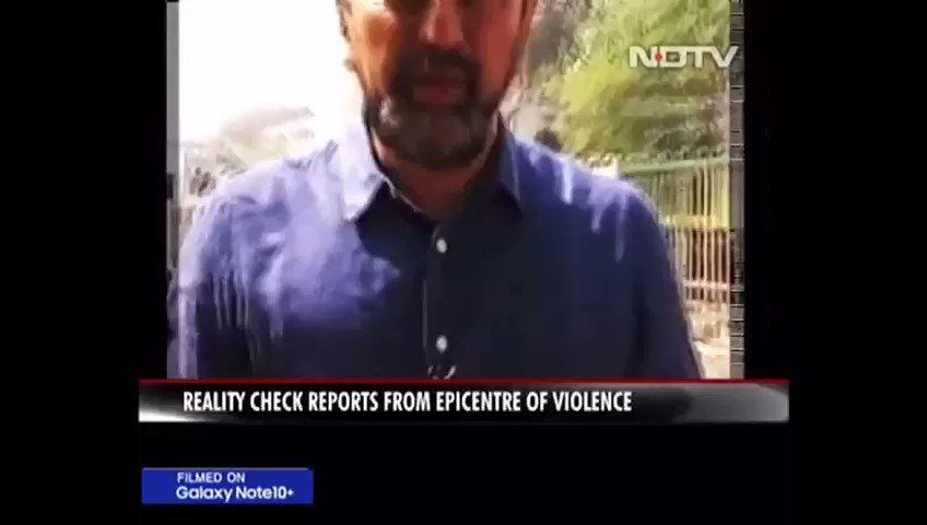 Black Day for NDTV when Muslim mob refuses to recognise their journalist as one of their own!