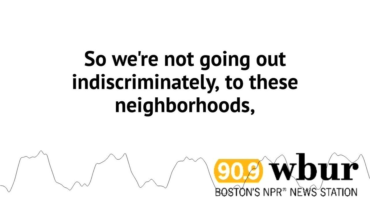 "Boston's acting ICE Director Todd Lyons sat down with @sdooling to talk about why the CBP is working with ICE in Boston. He said the agencies are going after ""criminal aliens,"" but that anyone undocumented could be swept up in arrests: https://wbur.fm/2vjBJP1"
