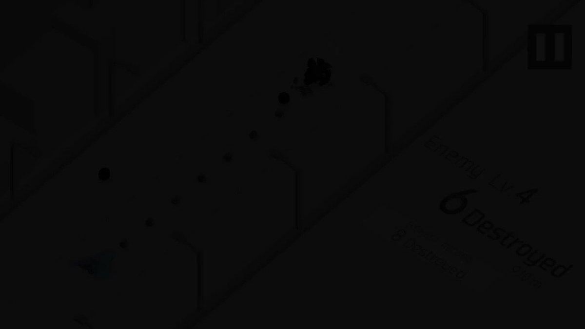シンプルなシューティングゲームです。無料なのでぜひプレイしてみてください!#IndieGameDev #ゲーム #ゲーム制作 #フリーゲーム