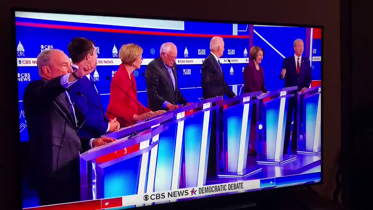 #DemDebate2020 what a civil bunch of folks #wow #RussianInterference #lol