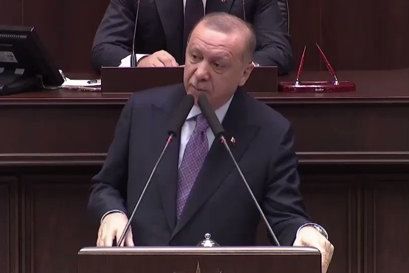 Turkish President #Erdogan admits Turkish military outposts in #Syria is under siege, warns military action by the end of months if #Sochi deal was not honored, laments Turkish Air Force denied from using Syria air space by #Russia.pic.twitter.com/Pt6niziPJA