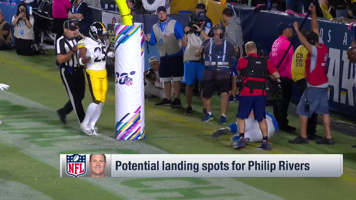 From NFL Now: The #Colts appear to make the most sense for former #Chargers QB Philip Rivers, while the #Raiders loom as an interesting option, as well.