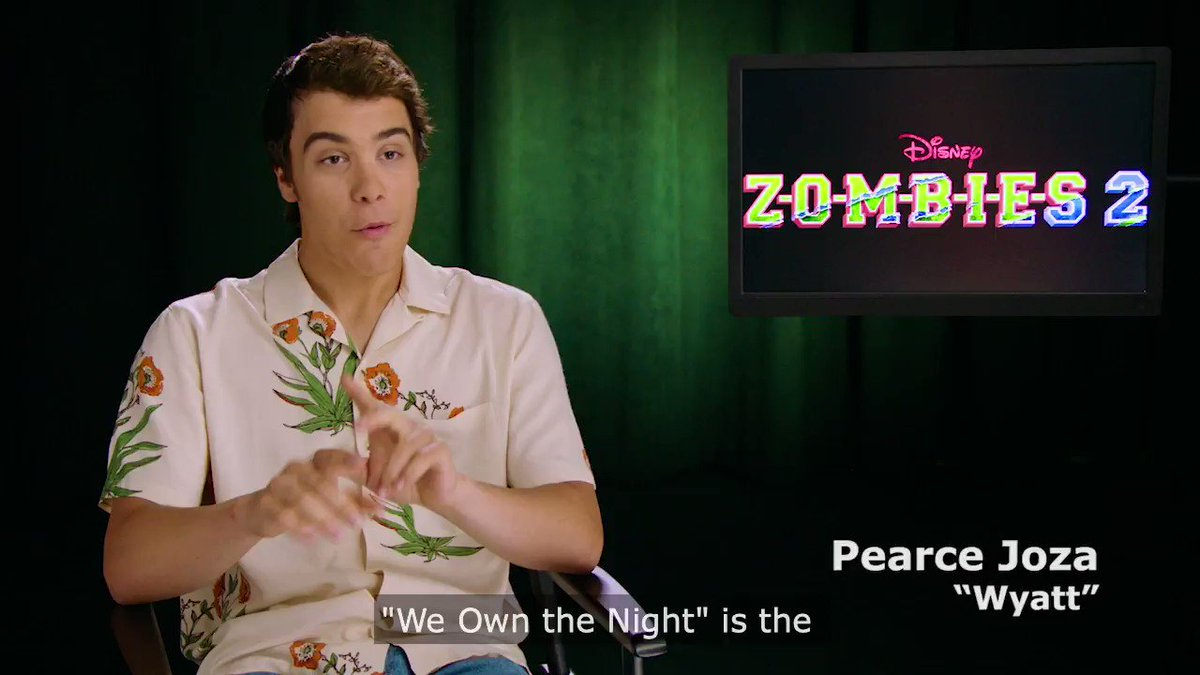 .@BabyAriel, @ChandlerLKinney and @PearceJoza share how #ZOMBIES2 viewers meet the werewolves during #WeOwnTheNight.
