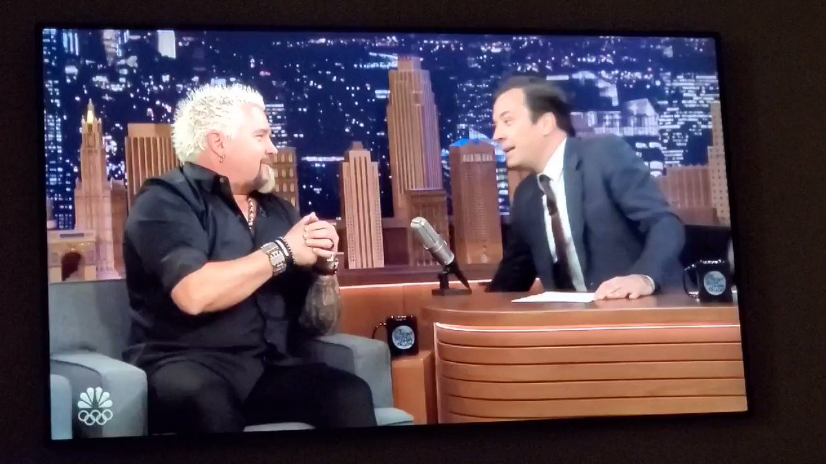 Image for the Tweet beginning: If you missed @GuyFieri on