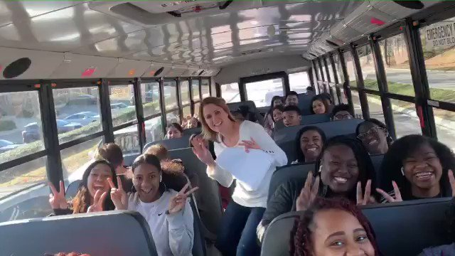 @Johnson_HHS We are on our way to support @hooverladybucs @HooverHighBucs