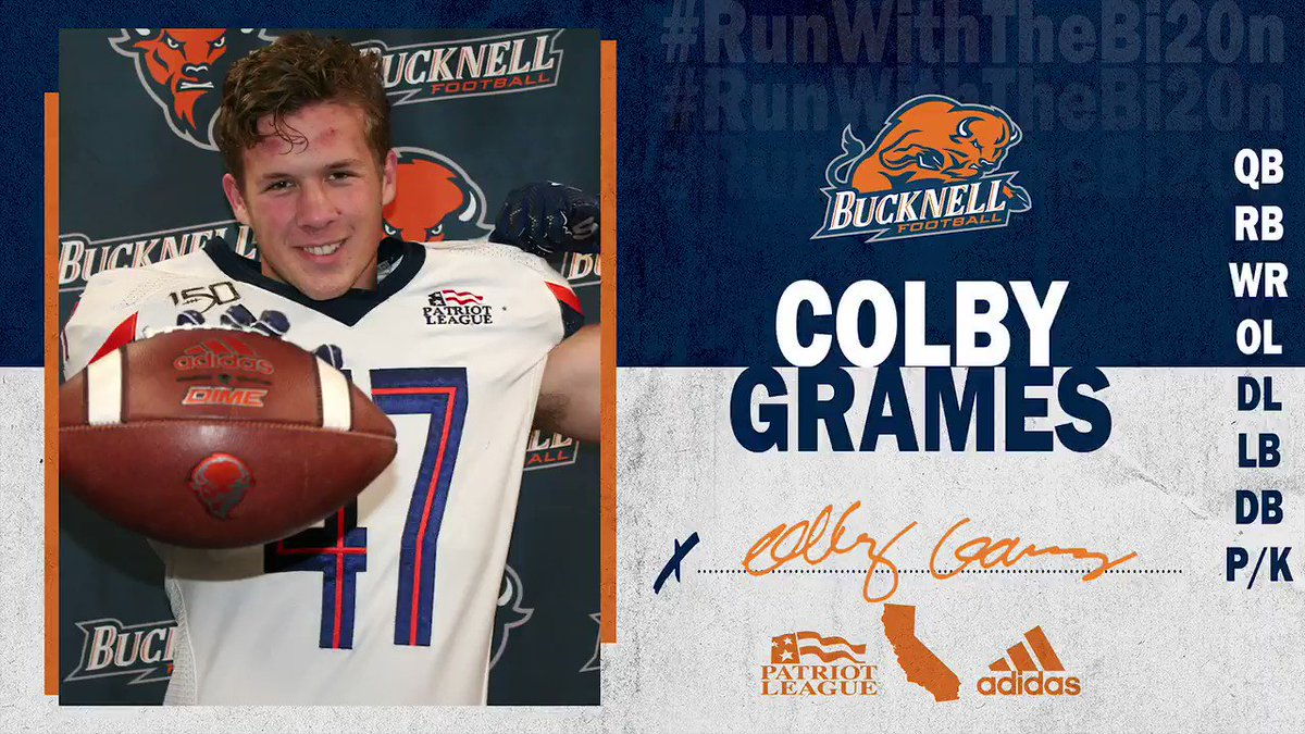 Pass Catching Machine. 👐🤖 TE Colby Grames (@grames47) has decided to #RunWithTheBI20N! #ACT | #rayBucknell
