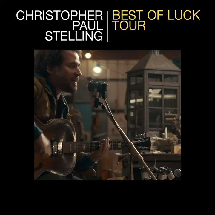 Who is ready to hear @C_P_Stellings new album Best of Luck, produced by @BenHarper Wednesday, March 18th? Tickets: bit.ly/2TonTTJ