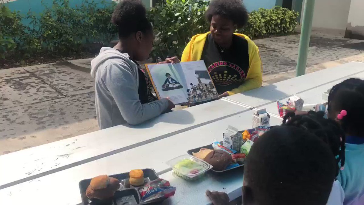 @CmsDelray Leading Ladies visited Pine Grove Elementary in Delray to read books to students in k-4th grade about @NASA mathematician Katherine Johnson, astronaut Mae Jamison and Olympian Wilma Rudolph. @SandraE57409095 #BlackHistoryMonth