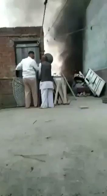 New Delhi, India   This is a Muslim family hiding as Hinditva mobs burn down their homes, places of worship, and neighborhoods. Hiding from being hunted down and slaughtered.   They are crying prayers to be saved.   THERE IS A GENOCIDE HAPPENING  PLEASE SPEAK UP 😭💔
