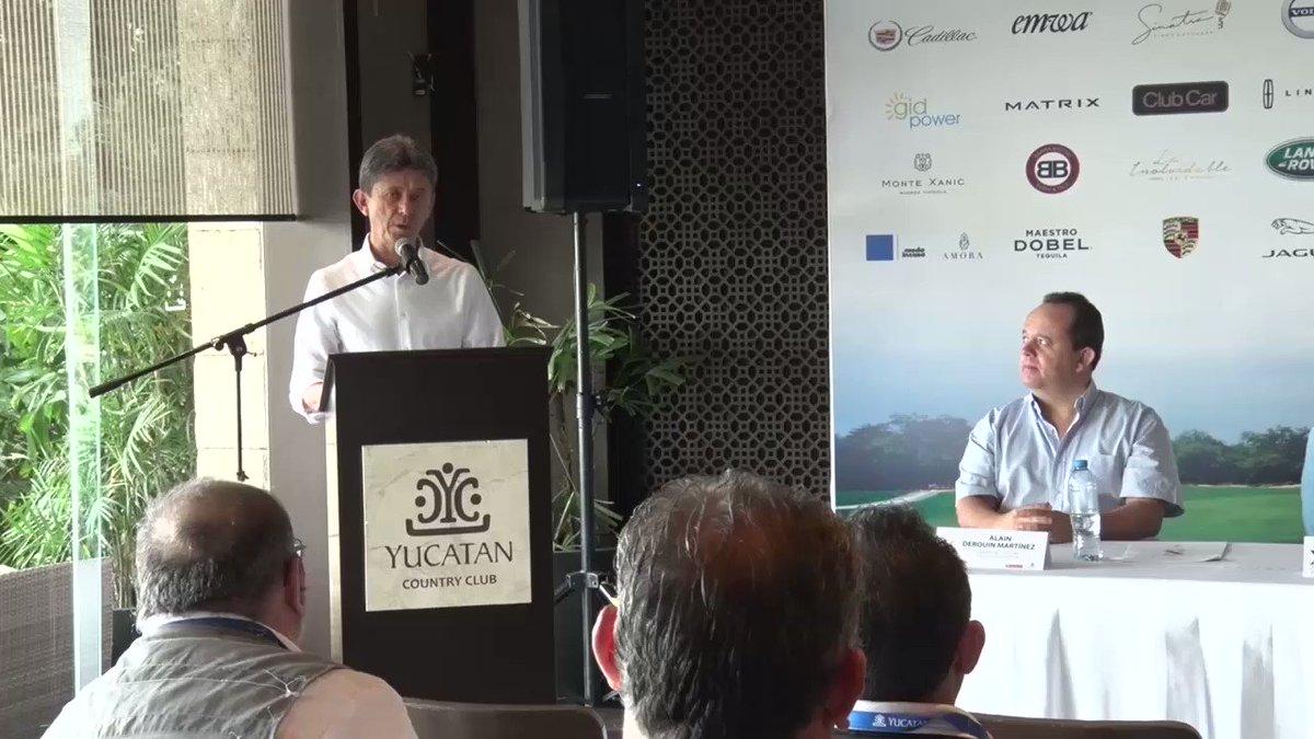 Torneo de golf, Jaguar clasic 2020.#AbriendolaConversación. #TeleFórmula Yucatán.