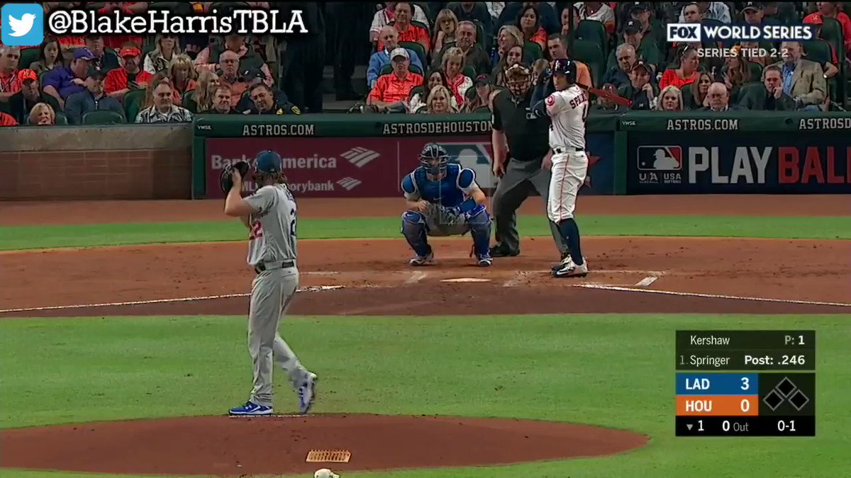I didn't believe it when Tom Verducci said the Astros didn't swing and miss at a single offspeed pitch from Clayton Kershaw in Game 5 of the 2017 World Series.  I went back and watched every Kershaw pitch that night.   He was right.   They didn't swing and miss at a single one.