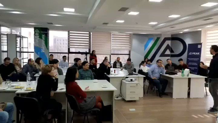 Lunch and Learn session at #PEAK #Bishkek