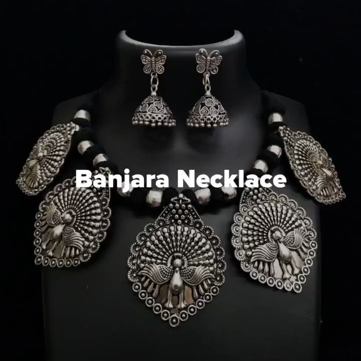 WhatsApp Personal Chat link:  Youtube Video:  #FashionWeek #fashionablelife #tribalfusion #fridayvibes #fridays #fridayfeeling #weekendvibes #partywear #necklacelove #earringlove #earaccessories #jewelryaddict #jewelrymaking #like