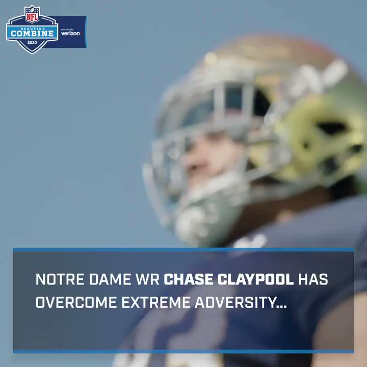 Image for the Tweet beginning: Greatness is a choice.  @ChaseClaypool is