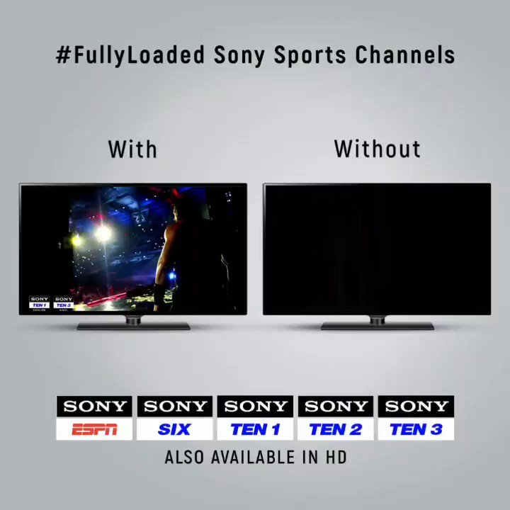 Sony Sports Channels 🆚 Your regular TV channels 📺There is no better combination. So we won't wait for you to name it! 😎#SonySports #Sports #FullyLoaded #WWE #EntertainmentPatakKe #BestOfSports #SportsUnlimited #GlobalSportingArena