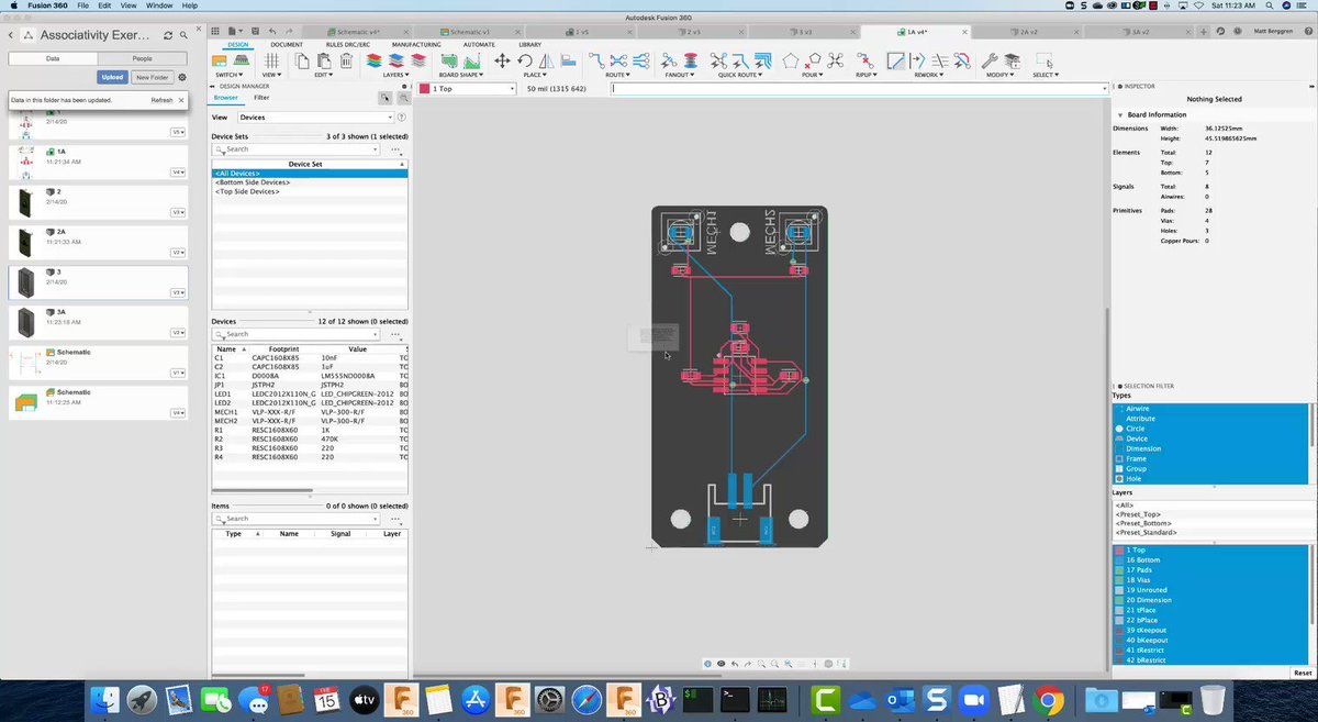 Are you interested in #Electronics? Learn how to make a parametric enclosure around your #PCB board with the new electronics workspace in Fusion 360: