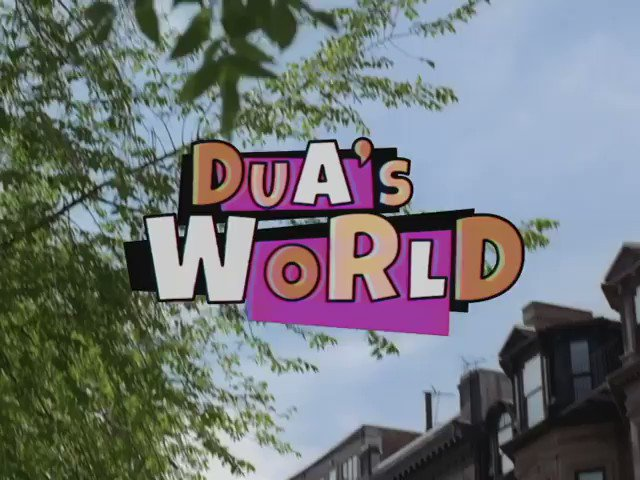 "💗🌎 ""Dua's World"" 🌎💗@voguemagazine Fall 2020 hot off the nyc runway 90s Sitcom Video of my dreamzzzzz ☁️☁️☁️☁️ Loved this whole whirlwind day with the sweeeetest team on the planet... 💛🌎💜🌎💚🌎❤️🌎💖"