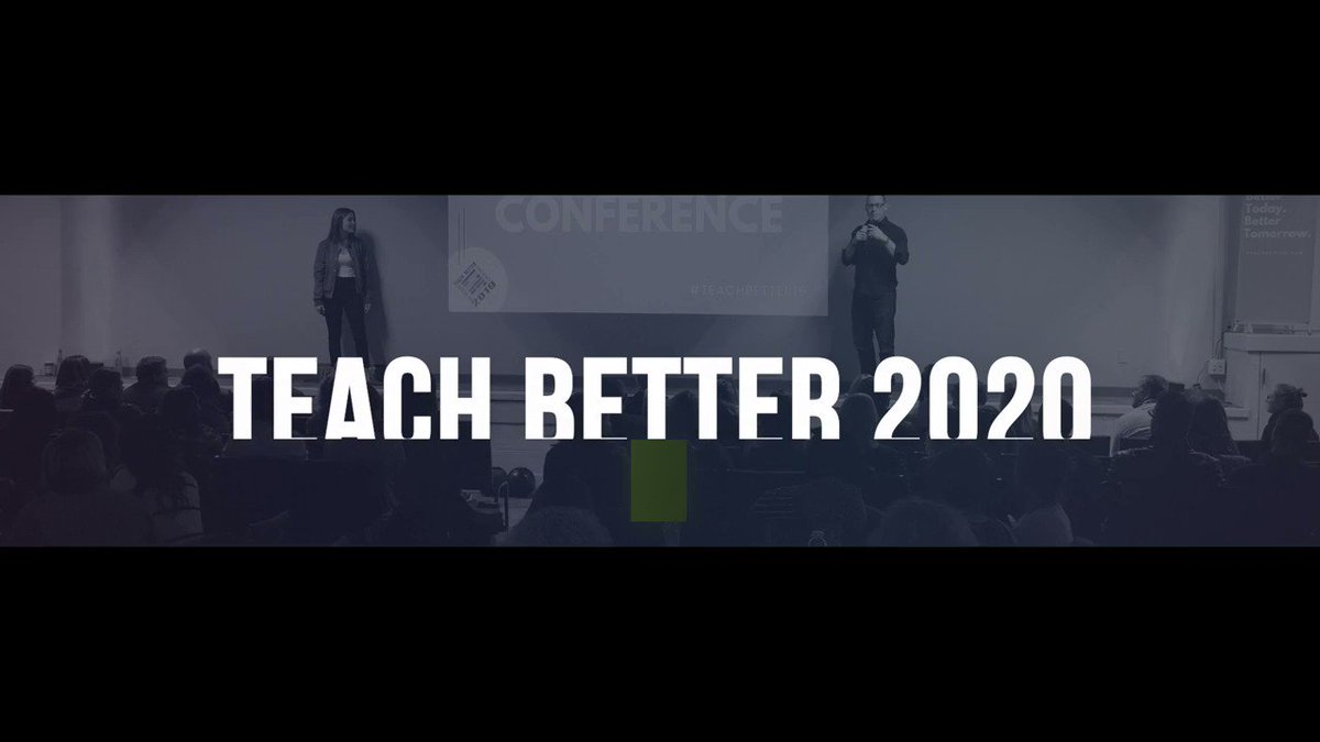 HUGE Spoiler Coming next week!  Registration open NOW!  Session Proposals opening March 16th!   #TeachBetter20 #TeachBetter #TeachBetter19
