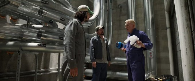 """We are dealing with science here\"" Happy birthday Daniel Craig ~ Logan Lucky (2017)"
