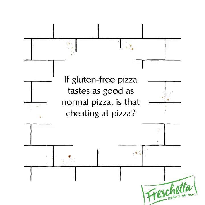Image for the Tweet beginning: Freschetta makes a gluten-free pizza