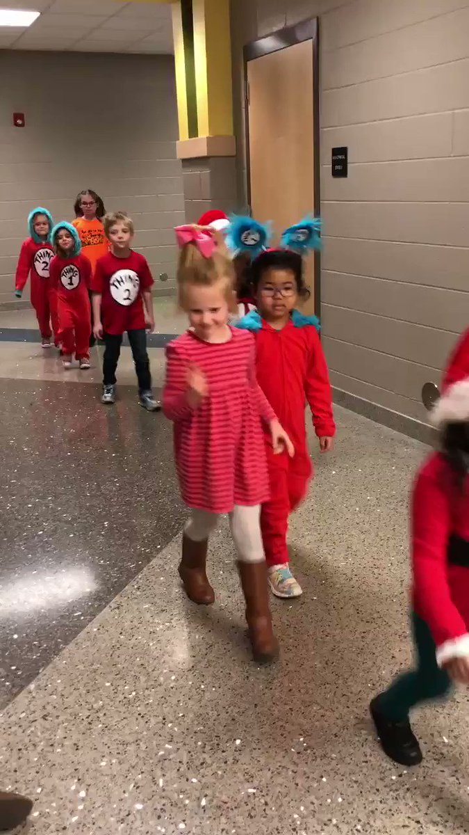 Loved seeing my kiddos in the character parade! #spsk12proud #DrSeuss