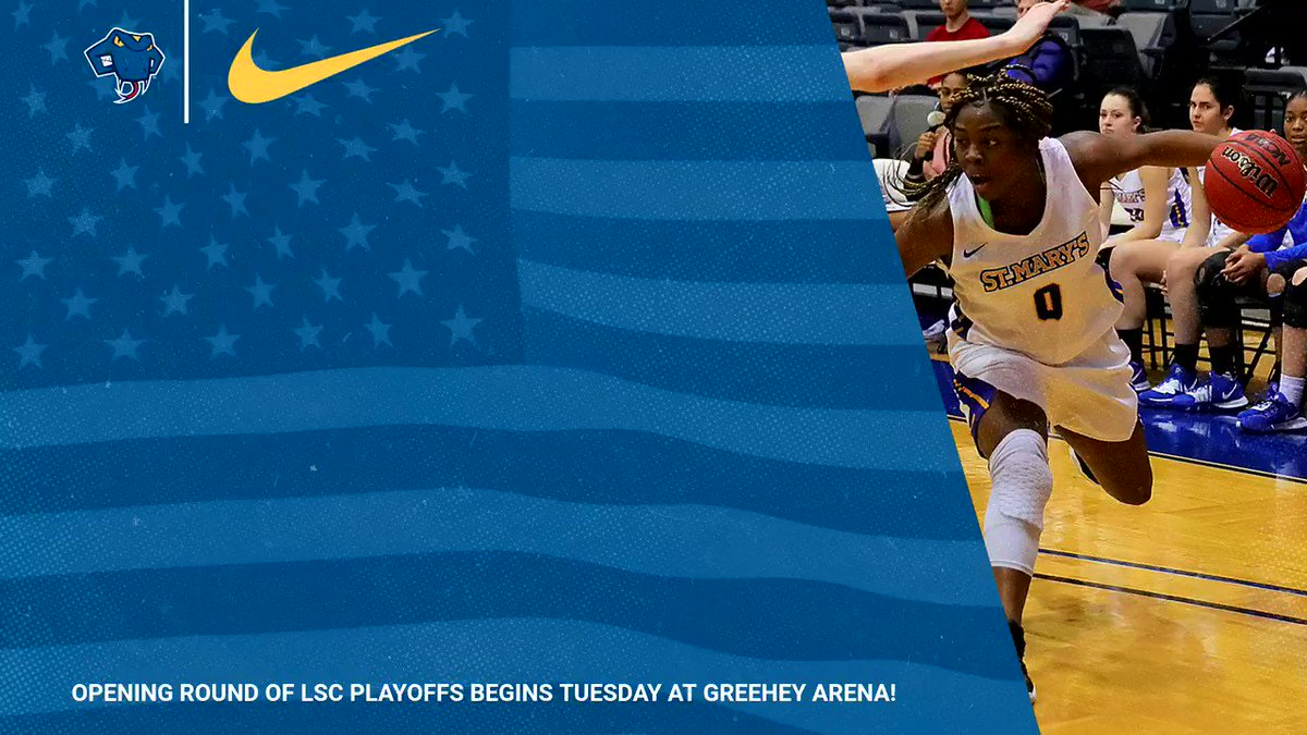 ✅ Playoff basketball 🏀 ✅ Free pizza 🍕 ✅ Free t-shirts 👕 Join @StMUwbb Tuesday night for a SUPER #RATTLERTUESDAY 😄 #FangsOut #LSCwbb