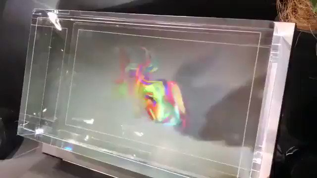 The Looking Glass is a new holographic display that lets you view, interact with, and share 3D creations in the real world