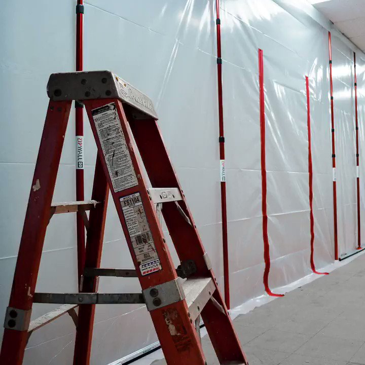 Image for the Tweet beginning: ZipWall® 20 foot poles are