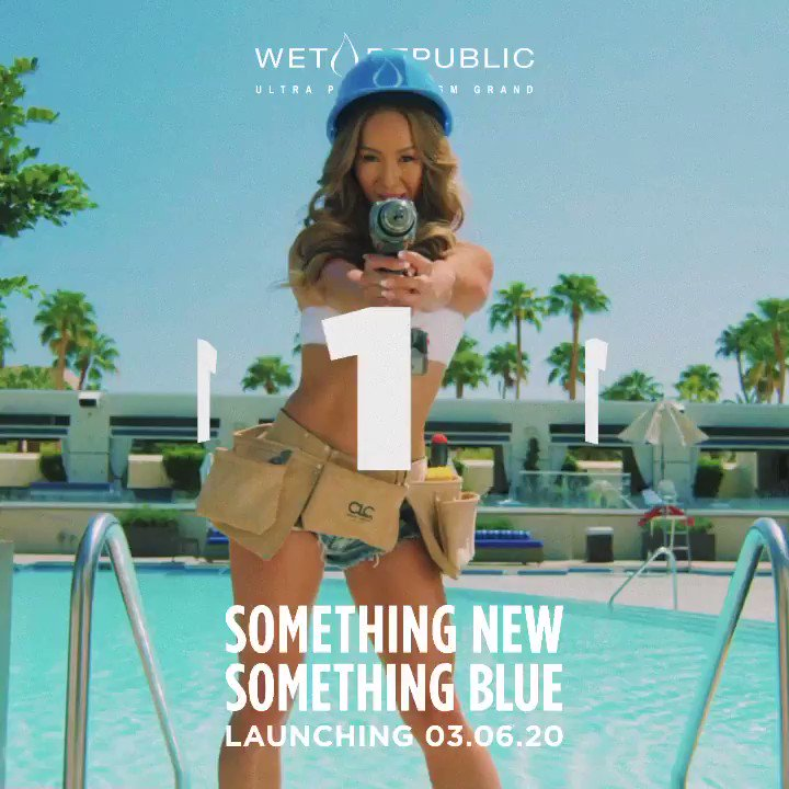1 more day.... Something New, Something Blue 💧 Opening, Friday March 6th. Tickets: https://t.co/g37epxRkHA https://t.co/M01Co0zK4I
