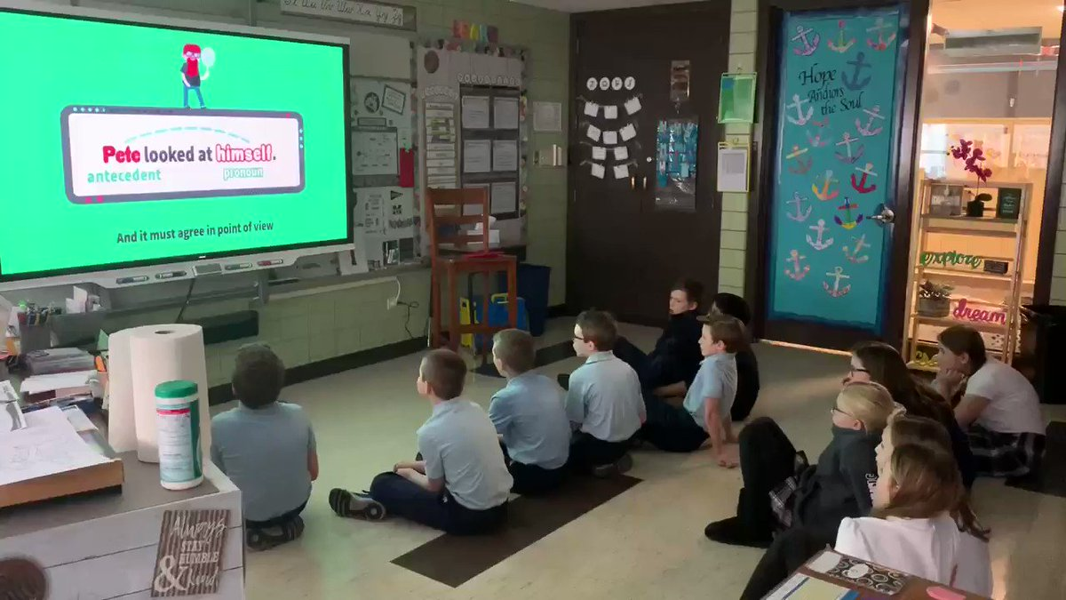 Image for the Tweet beginning: Singing along with @Flocabulary learning
