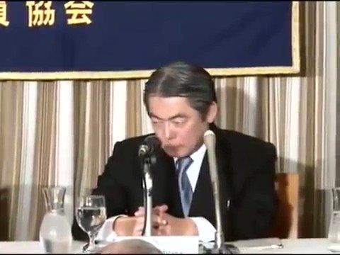 記者会見にて福島原発破壊計画を質問するベンジャミン・フルフォード。 https://t.co/YX5LMhuD7I