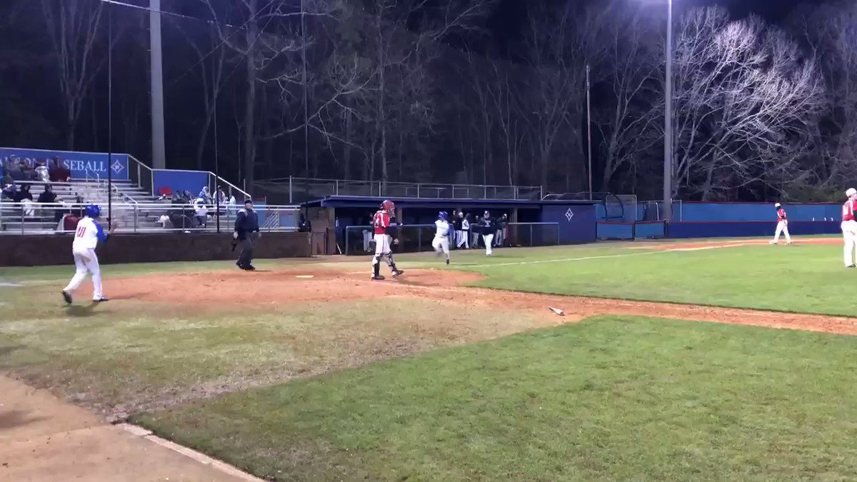 And another walk off win in extra innings of game 2 of the double header. @Walton_Baseball