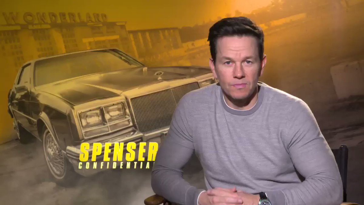 After your long run today, kick back and maybe check out @markwahlberg in #SpenserConfidential