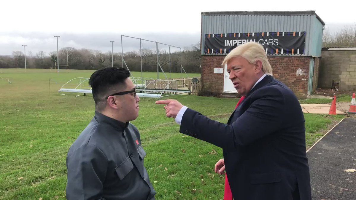 Is Trump's right hand as good as Tyson Fury's?  @Tyson_Fury @bigdaddybunce  #gypsyking #TysonFuryGypsyKing #TysonFury #DonaldTrump