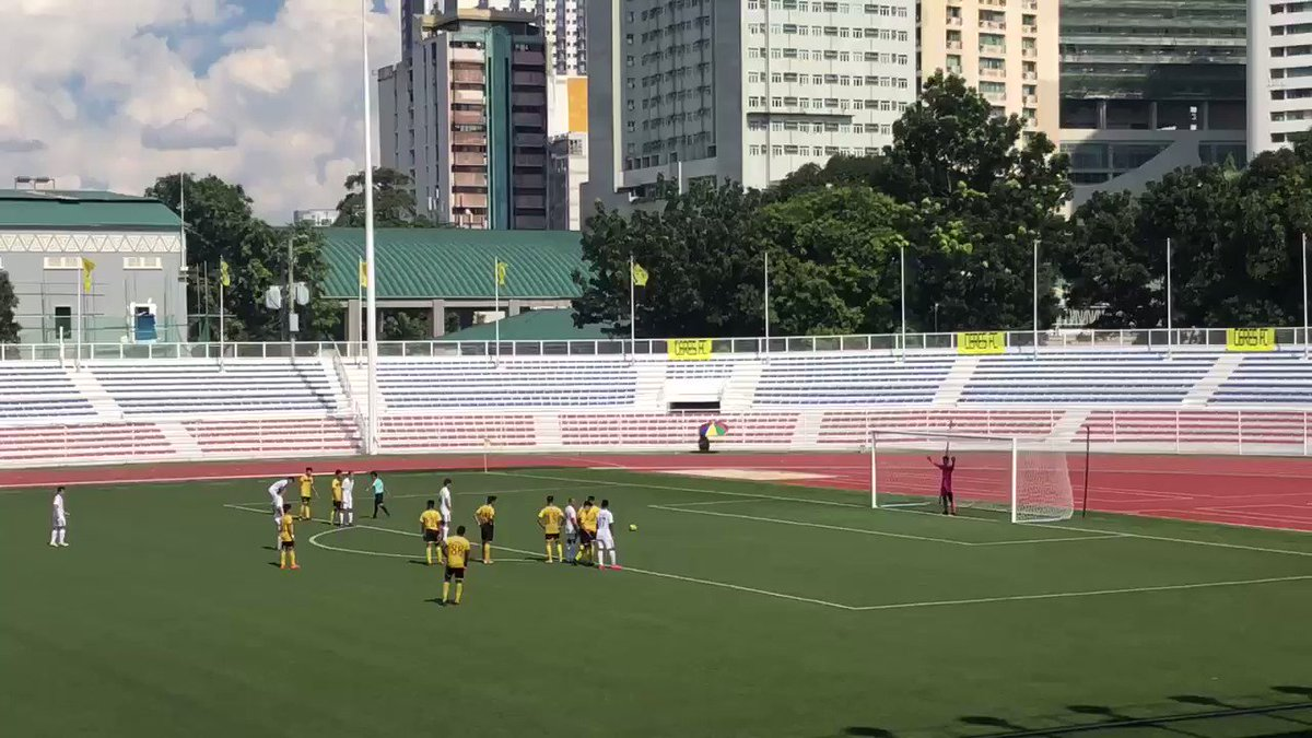54' - GOAL! Herrera steps up for his second penalty of the season and makes it 5 goals for Ateneo today. Ateneo 5 UST 0 #UAAPFootball